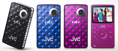JVC Picsio taskusõbralik videokaamera filmib Full HD videot ja on peagi saadaval Photopointis