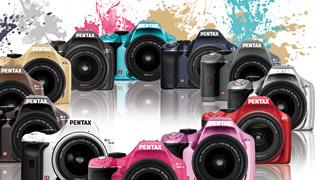 Värviliste Pentax K-x kaamerate esimene laine on päral