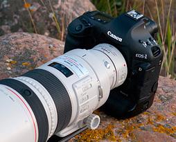 Canon EOS 1D Mark IV ülevaade Digitesti veebilehel