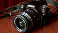 Käed küljes: Sony α55 - poolläbipaistva peegliga hübriidkaamera