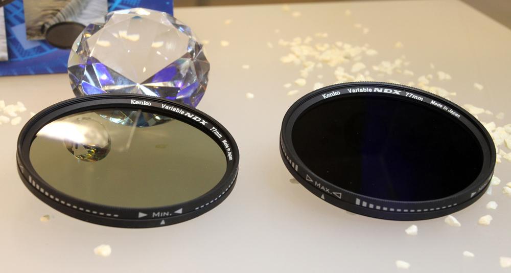 Kenko uus ND filter muutub keerates tumedamaks