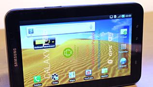 Karbist välja - Samsung Galaxy Tab tahvelarvuti