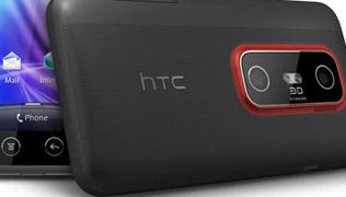HTC Evo 3D nutitelefon teeb ja näitab 3D pilti. Ilma prillideta