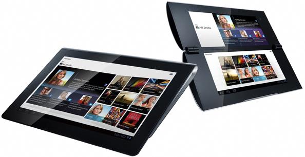 Sony esitleb oma esimesi tahvelarvuteid: kaarjas S1 ja kokkuklapitav S2