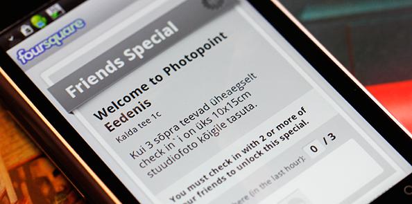 Foursquare`i ja kahe sõbra abil saad tasuta stuudiofoto