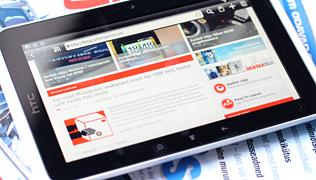Karbist välja: HTC Flyer tahvelarvuti