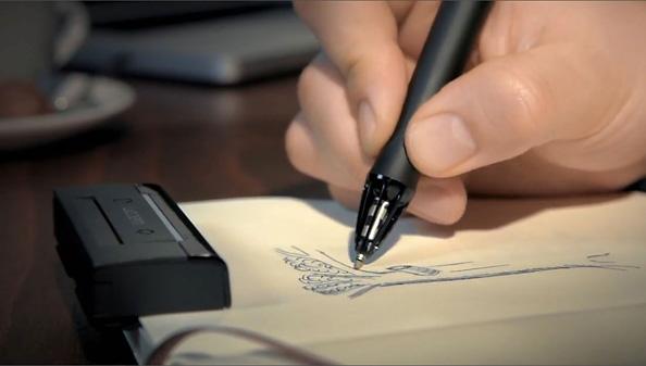 Wacom Inkling digitaalne pliiats võlub sinu paberile joonistatud pildid arvutisse