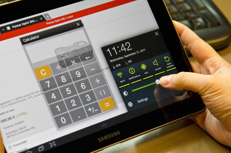 Karbist välja: Samsung Galaxy Tab 10.1 tahvelarvuti