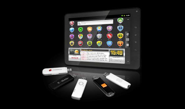 Prestigio MultiPad tahvelarvuti tarkvarauuendus toob endaga 3G netipulkade toe