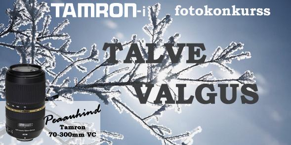 """Lõppes Tamroni fotokonkurss """"Talve valgus"""""""