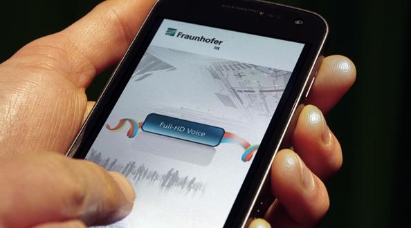 Fraunhofer paneb androidtelefonid rääkima FullHD häälega