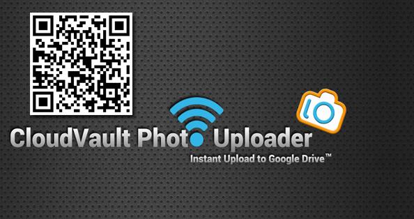 Nädala rakendus Androidile 41. CloudVault Photo Uploader