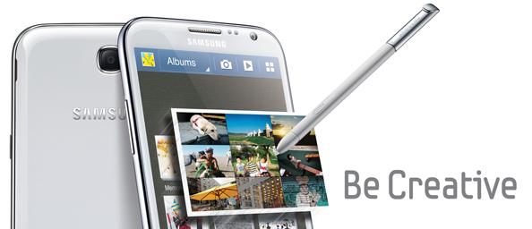 Samsung Galaxy Note 2 - kuninglik kaelkirjak