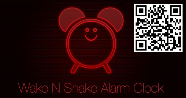 Nädala rakendus Androidile 59. Wake N Shake Alarm Clock ning enam ei pea sisse magamise pärast muretsema