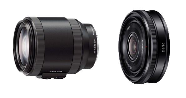 Kaks uut Sony E bajonetiga objektiivi: 20mm pannkook ning elektroonilise zoomiga 18-200