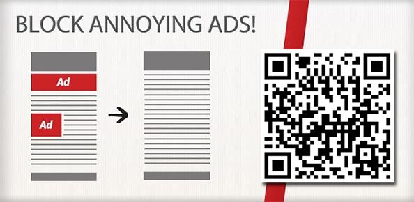 Nädala rakendus Androidile 67. Adblock Plus ja unusta tüütud reklaamid