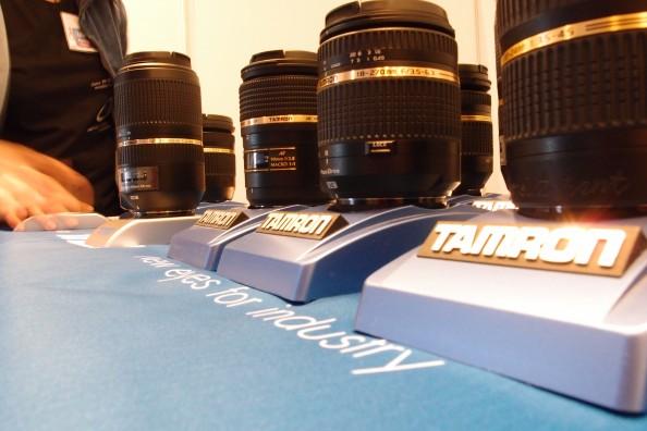 Tamroni objektiivid ja Pentaxi kaamerad Touresti messil
