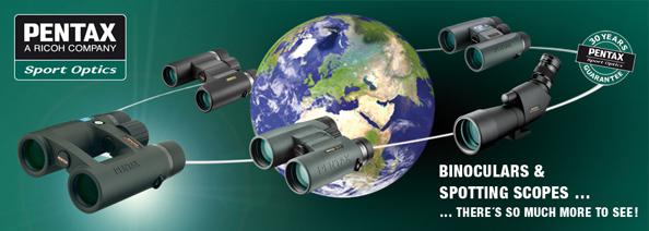Meremessil saab tutvuda Pentaxi binoklite ja veekindlate kaameratega