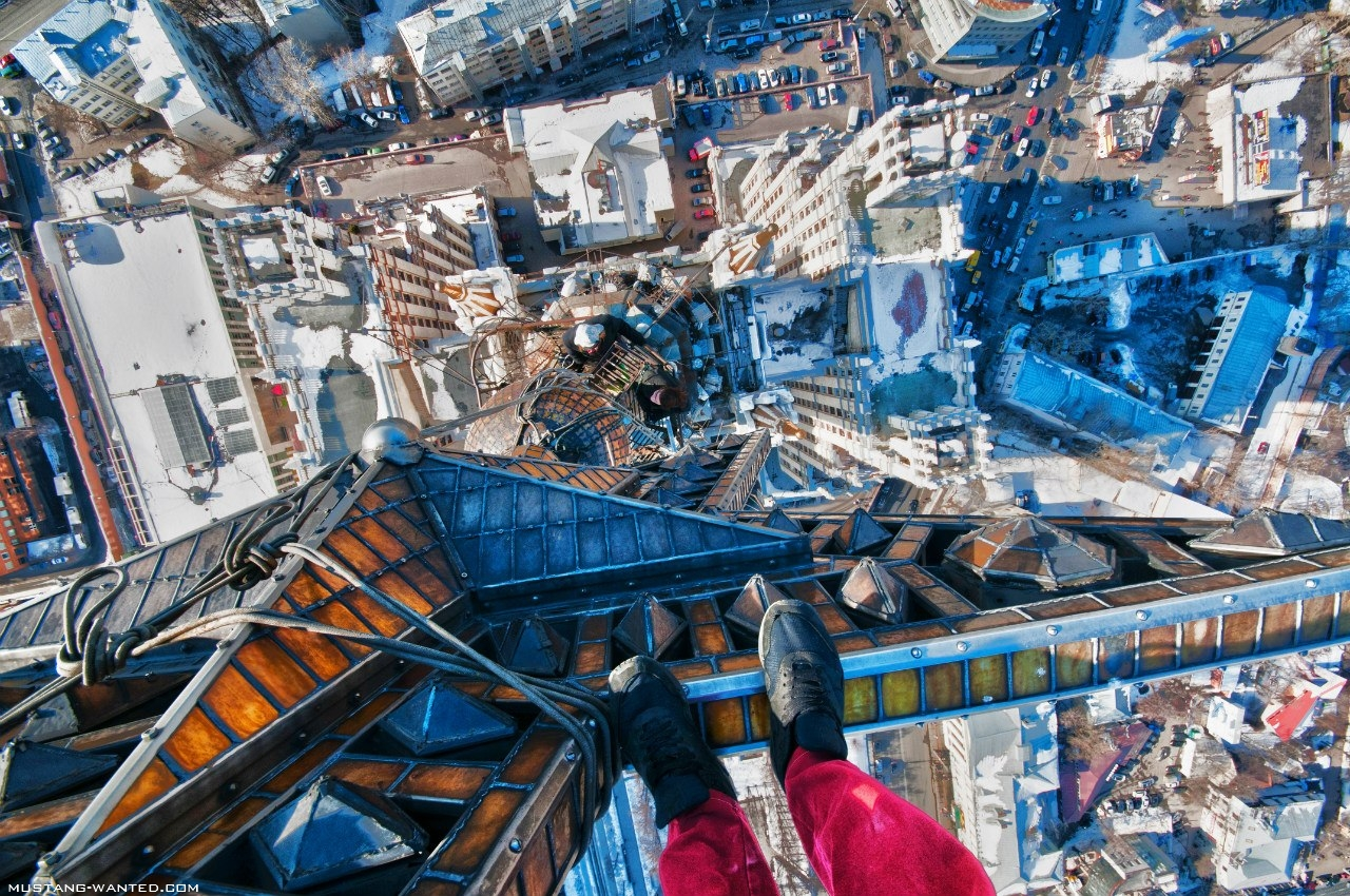 Surmapõlgavalt ekstreemsed fotod kõrgustest - reis Venemaale