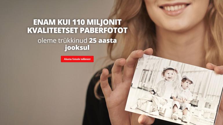 KKK: Kuidas PhotoExpress Online abil paberfotosid tellida?