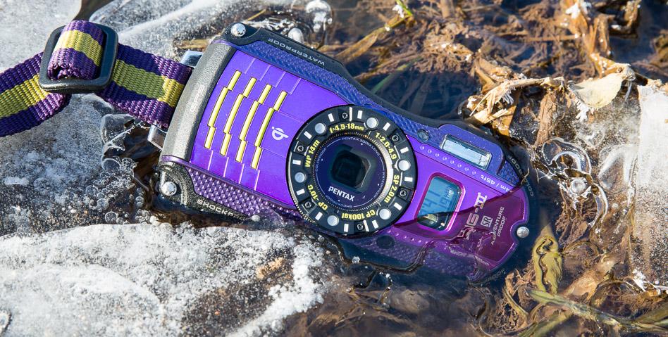 Karbist välja: veekindel kompaktkaamera Pentax WG-3 GPS