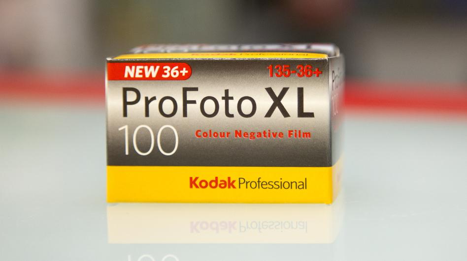 Karbist välja: Kodak ProFoto XL 100/36, soodne, heade värvidega ning väikese teraga film