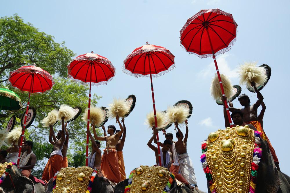 Kompaktkaameraga Indias 12. India festival