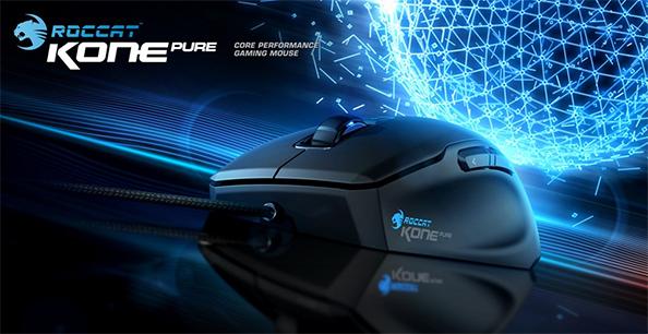 Roccatilt uus hiir mänguritele: Kone Pure Optical