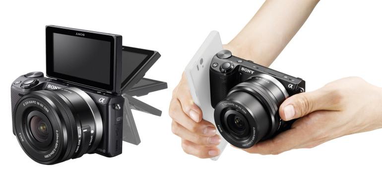 NFC toega hübriidkaamera nutikatele - Sony NEX 5T