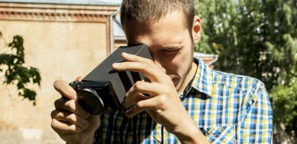 Tee ise 7. LCD pildiotsija