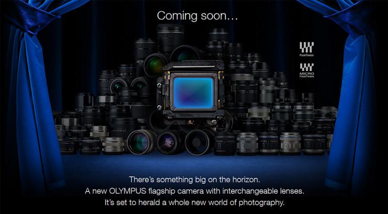 Olympus asub esitlema uut hübriidkaamerate lipulaeva