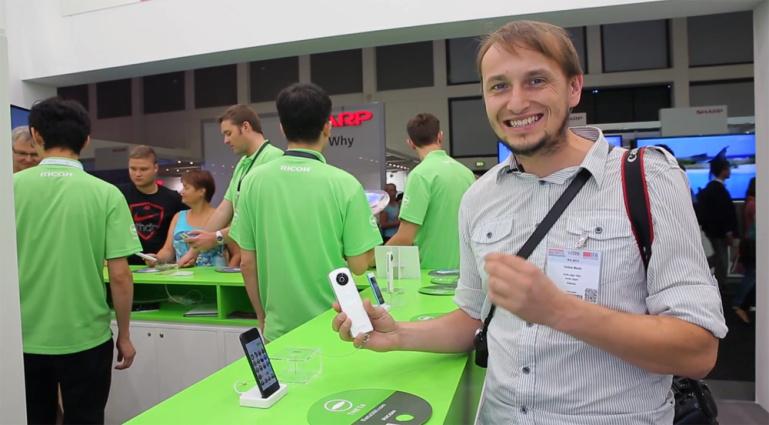 Käed küljes: Ricoh Theta - 360 ühe klõpsuga IFA tehnikamessil