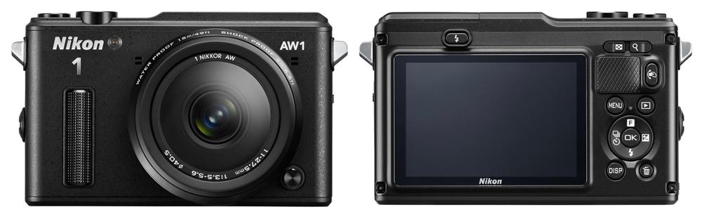 Nikon 1 AW1 on maailma esimene vee- ja põrutuskindel hübriidkaamera