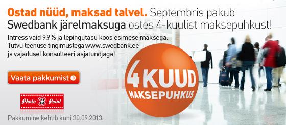 Septembris saad Photopointist kaubad kätte ilma ühegi eurota