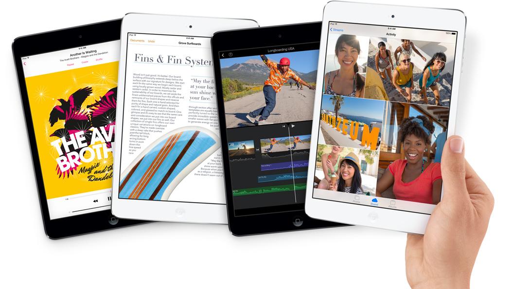 iPad mini lõpuks ka Retina ekraaniga