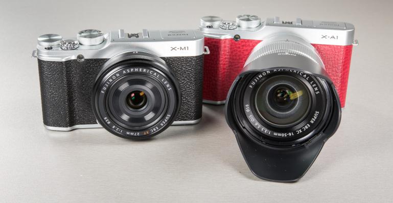 Karbist välja: Fujifilmi hübriidkaamerad X-A1 ja X-M1
