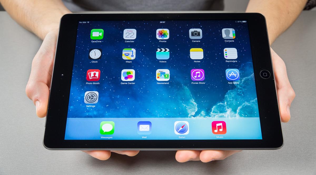 Karbist välja: iPad Air