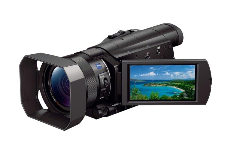 Sony Handycam AX100E - väike ja võimas 4K videokaamera