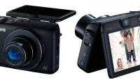 Canon PowerShot N100 salvestab üheaegselt mõlemal pool kaamerat toimuvat