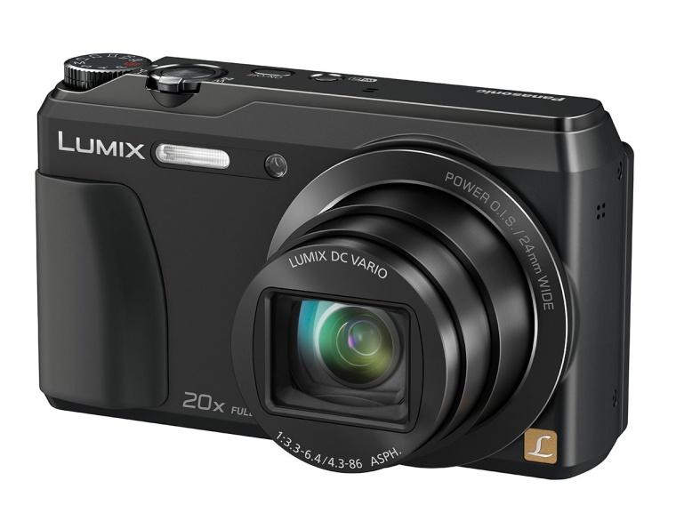 Panasonic DMC-TZ55 on soodne supersuumkaamera ettepoole pööratava ekraaniga