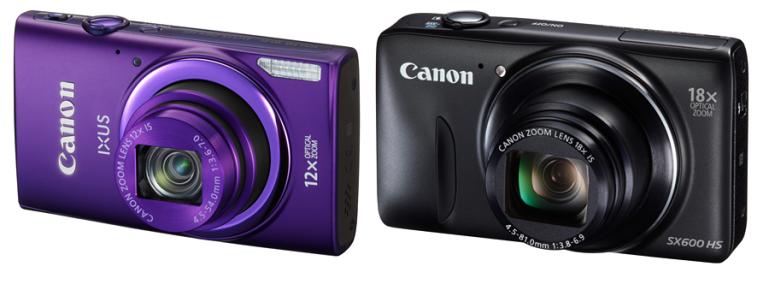 Canonilt hea suumiga kompaktkaamerad IXUS 265 HS ja PowerShot SX600 HS