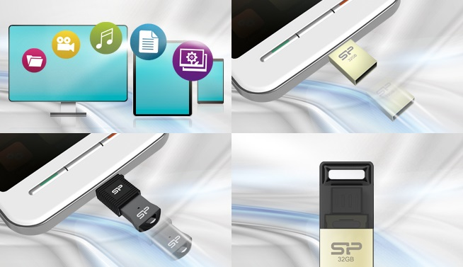 Silicon Powerilt uued mälupulgad mobiilsetele