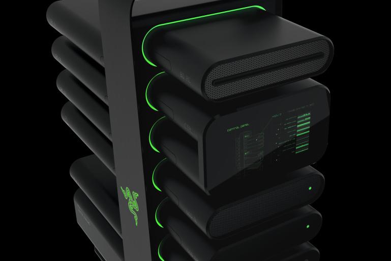 Razer tutvustas mänguriarvutite tulevikku – Project Christine
