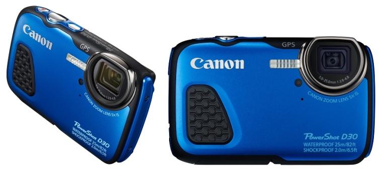 Canon sukeldub uue veekindla D30 kompaktkaameraga kõige sügavamale