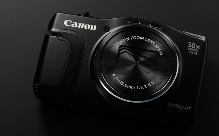 PowerShot SX700 HS BLACK BEAUTY