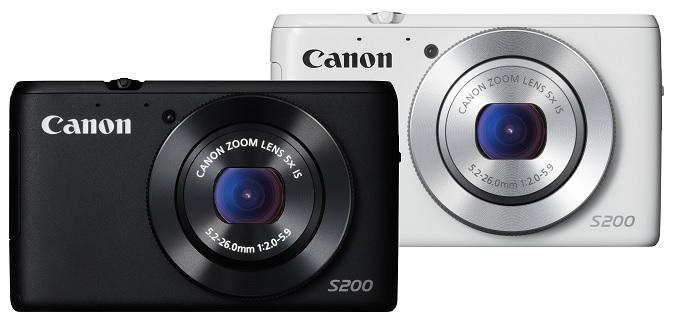 PowerShot S200 – midagi vahepealset Canonilt