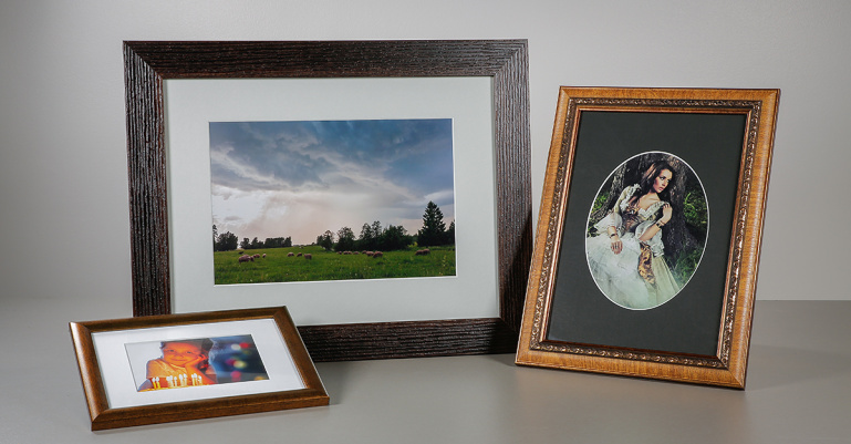 Paspartuu ehk kuidas fotot raami sisse panna nii et oleks ilus