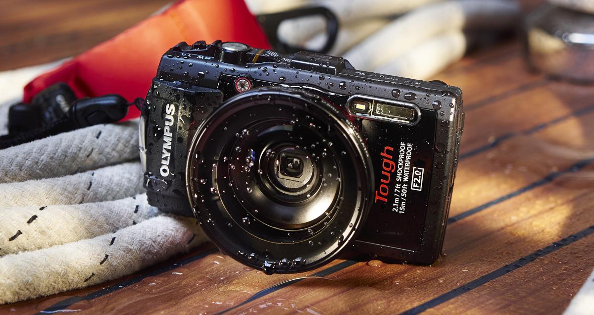 Veekindel Olympus TG-3 kompaktkaamera toob WiFi ühenduse ja paremad lähivõtted