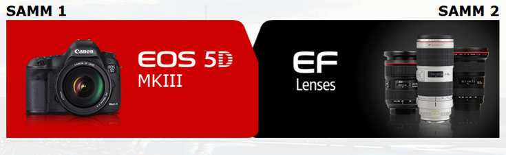 Osta Canon EOS 5D Mark III ja osale objektiivide raha tagasi kampaanias