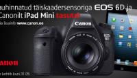 Canon EOS 6D ostul saad Canonilt kingituseks iPad mini